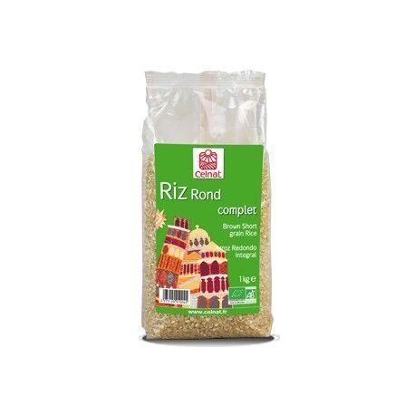 CELNAT Riz Rond Complet, Celnat, 1kg