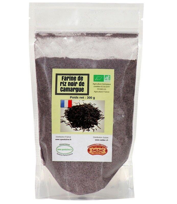 Speeduline Pj Natura Farine de riz noir de Camargue Bio - 300grs