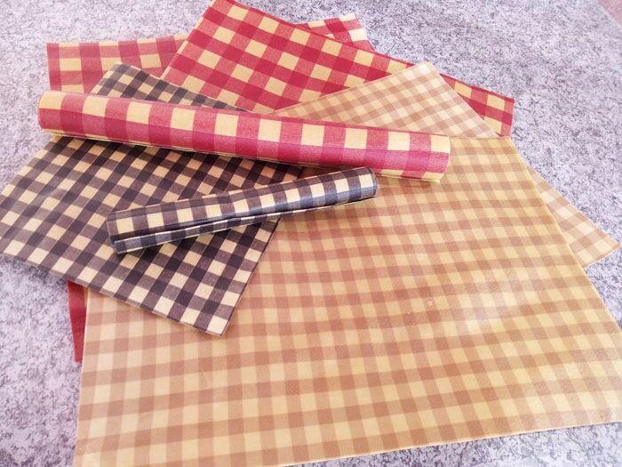 Eco-conseils Emballage Cire Abeille L  33 x 36