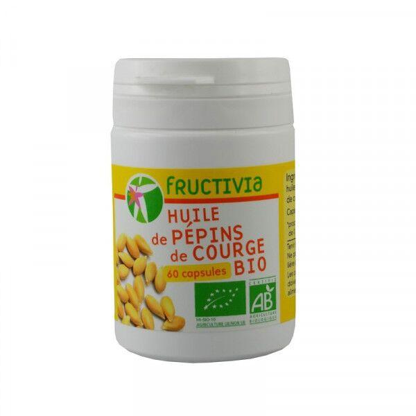 Jolivia Huile de pépins de courge Bio - 60 capsules de 500 mg