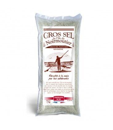Nos Meilleures Courses Gros sel naturel non raffiné de l'île de Noirmoutier