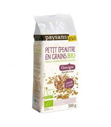 PAYSANS D'ICI Petit épeautre en grains bio & équitable