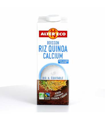 ALTER ECO Boisson végétale au riz quinoa calcium bio & équitable