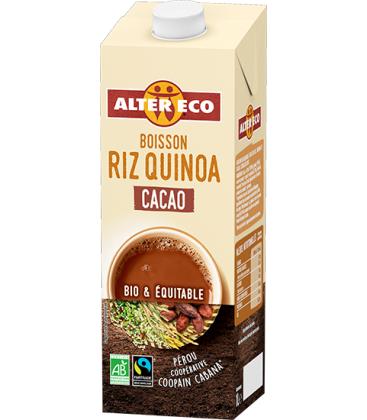 ALTER ECO Boisson végétale au riz quinoa cacao bio & équitable