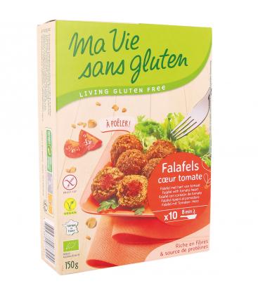MA VIE SANS GLUTEN Falafels au coeur tomate bio & sans gluten
