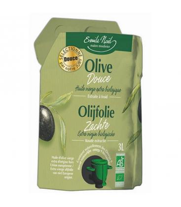 EMILE NOËL Huile d'olive vierge extra douce bio 3 L