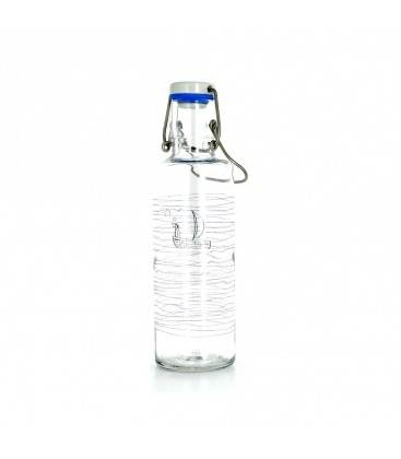 Soulbottles Bouteille en verre refermable 600 ml