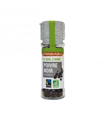 ETHIQUABLE Poivre noir du Kérala en grains bio & équitable