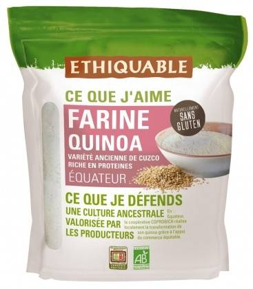 ETHIQUABLE DATE PROCHE - Farine de quinoa bio & équitable -...