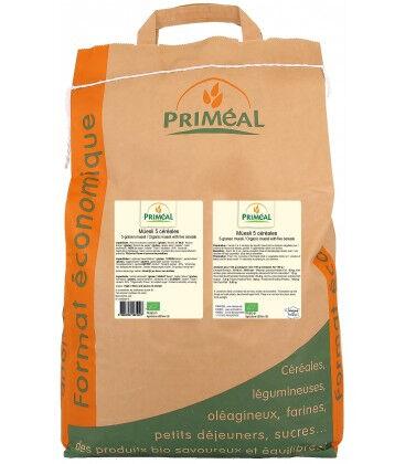 PRIMÉAL RHD - Muesli 5 céréales bio 25kg