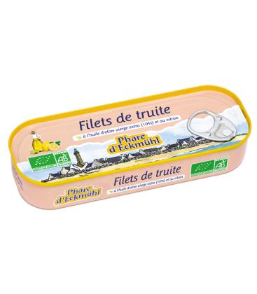 PHARE D'ECKMÜHL Filets de truite à l'huile d'olive vierge et au citron bio