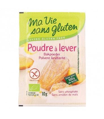 MA VIE SANS GLUTEN Poudre à Lever Bio pour Pâtisseries 4x10g-Ma Vie Sans Gluten