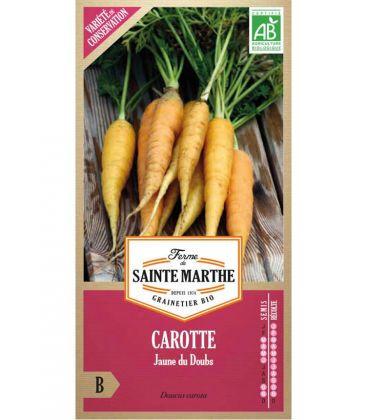 Nos Meilleures Courses Carotte Jaune du Doubs - Semences reproductibles bio