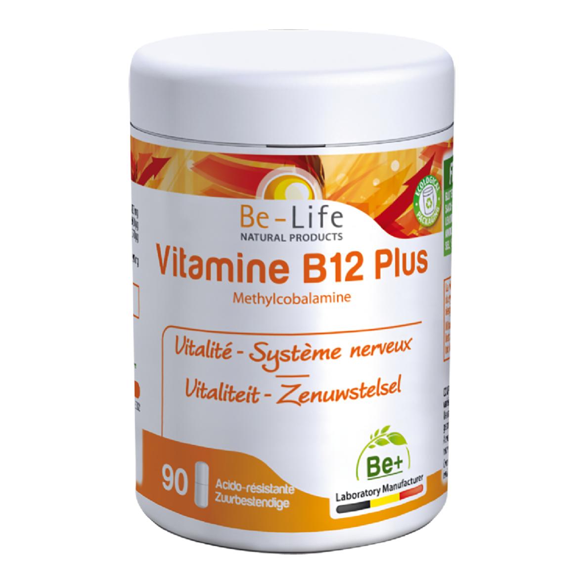 Lechoppebio Vitamines B12 PLUS 90 gélules - Belife
