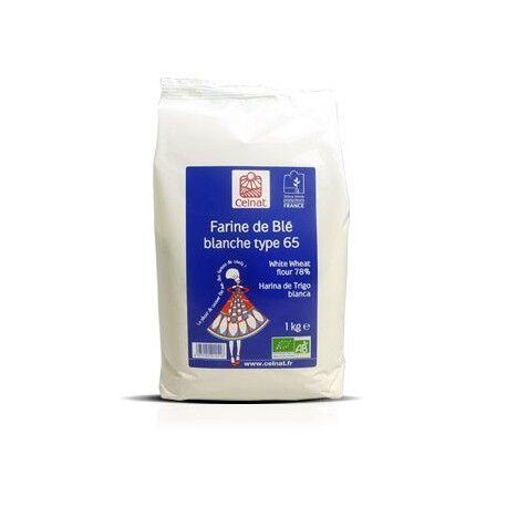 CELNAT Farine de Blé blanche Type 65, Celnat, 1kg