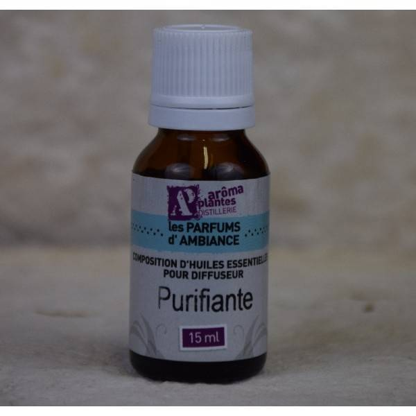 ArÔma'plantes Composition Huiles essentielles Purifiante 15 ml