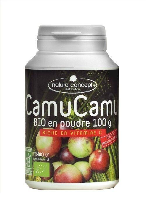 Naturo Concept Camu camu bio - poudre - 100g