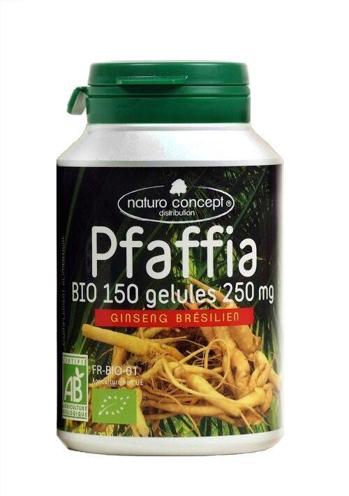 Naturo Concept Pfaffia bio (ginseng brésilien) - 150 gélules