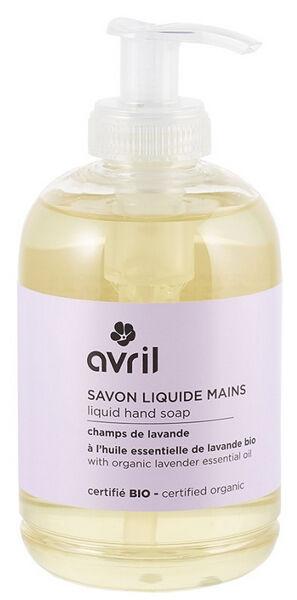Sana Vita Savon liquide mains champs de lavande, 300 g