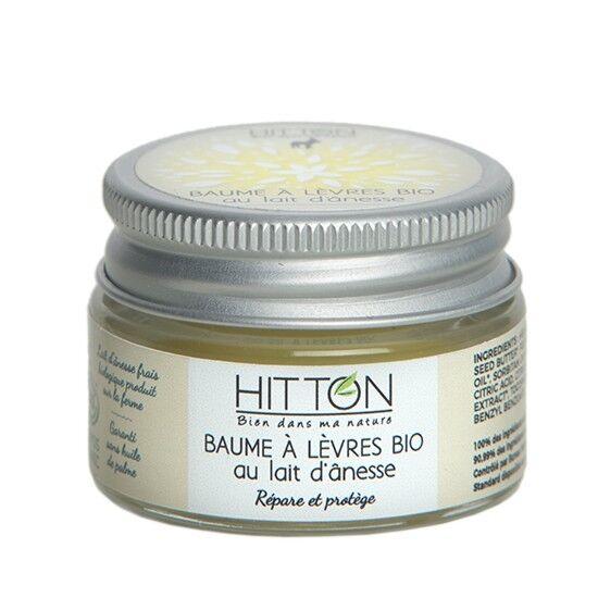 Hitton Baume à lèvres bio au lait d'ânesse  HITTON