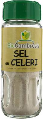 Les Délices De Sarah Sel au céleri flacon 58g--bio cambrésis