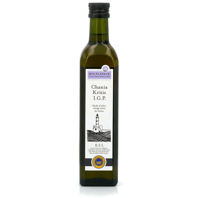 BIO PLANETE Huile d'olive igp chania kritis - grèce  BIO PLANETE