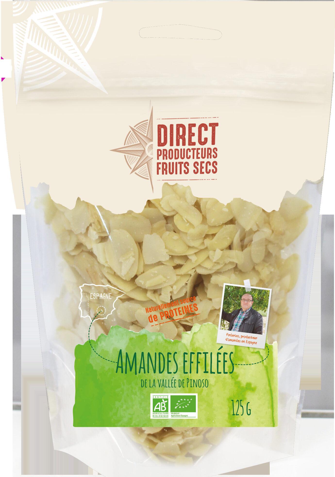 DIRECT PRODUCTEURS Fruit sec -  Amandes effilées de la vallée de...
