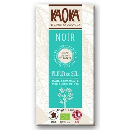 Les Délices De Sarah Simply noir, chocolat noir 61% cacao 80g--kaoka