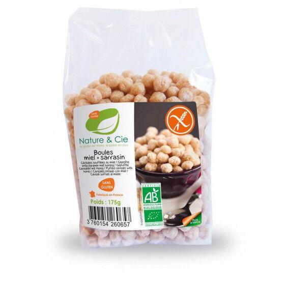 NATURE & CIE Boules De Miel Sarrasin Sans Gluten 175G  Nature & Cie