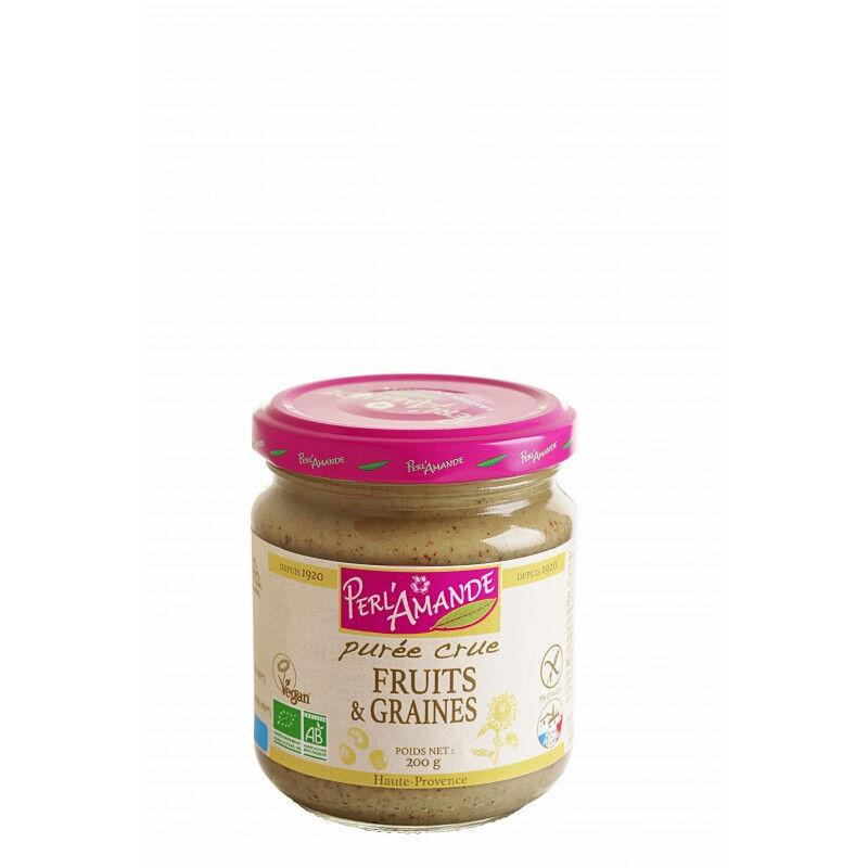 PERL'AMANDE Purée de fruits secs & graines 200g--perl'amande