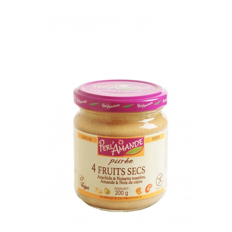 PERL'AMANDE Purée de fruits secs (4 fruits) 200g--perl'amande