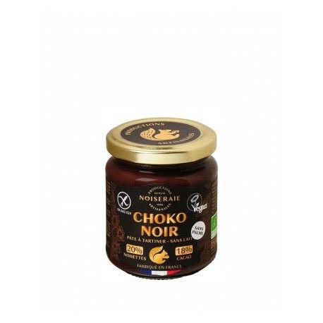 PERL'AMANDE Pâte a tartiner choko noir cacao 220g--perl'amande
