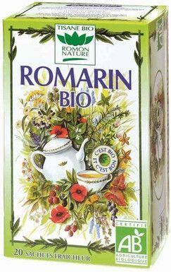 ROMON NATURE Tisane Bio Romarin - 20 Sachets - Romon nature
