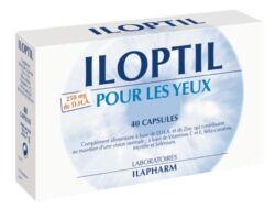 Laboratoires Ilapharm Iloptil vision - plantes, vitamines, minéraux - défendez votre...