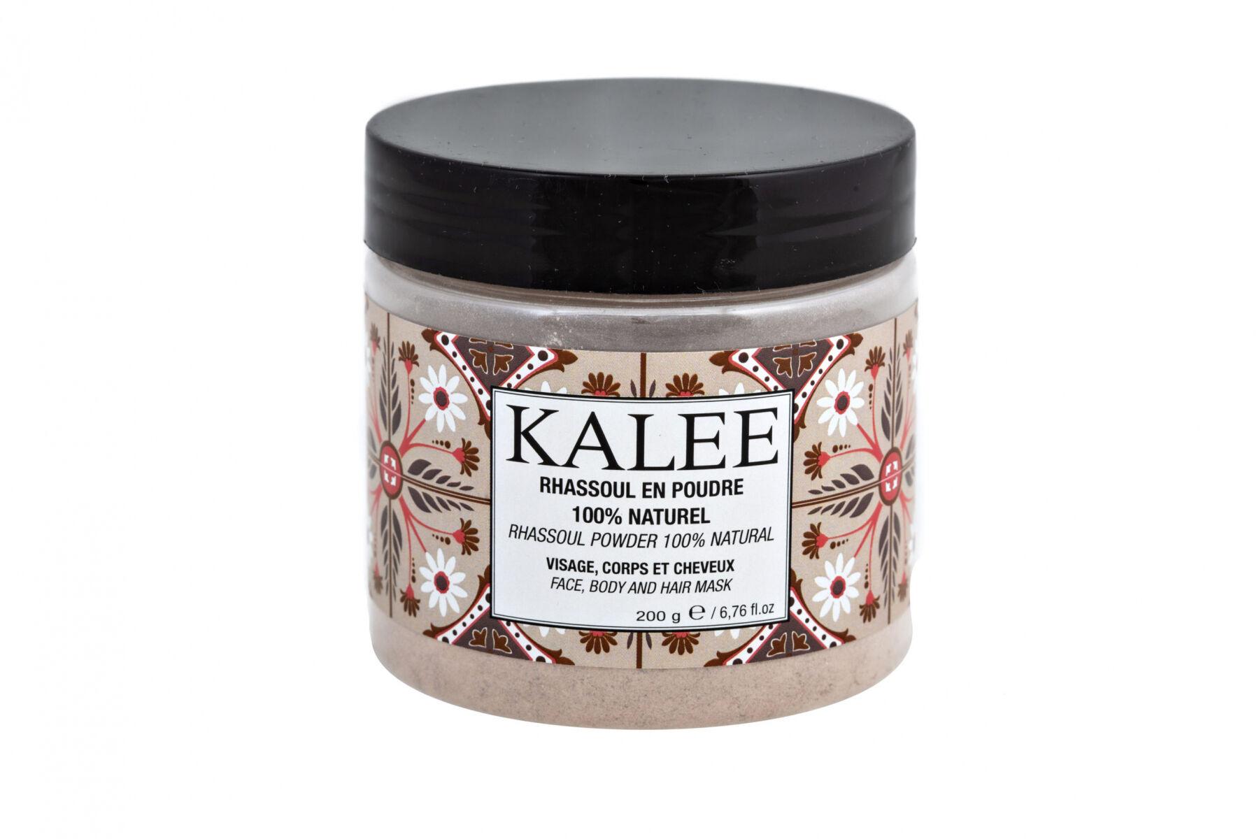 Kalee Beauty Rhassoul en poudre 100% naturel