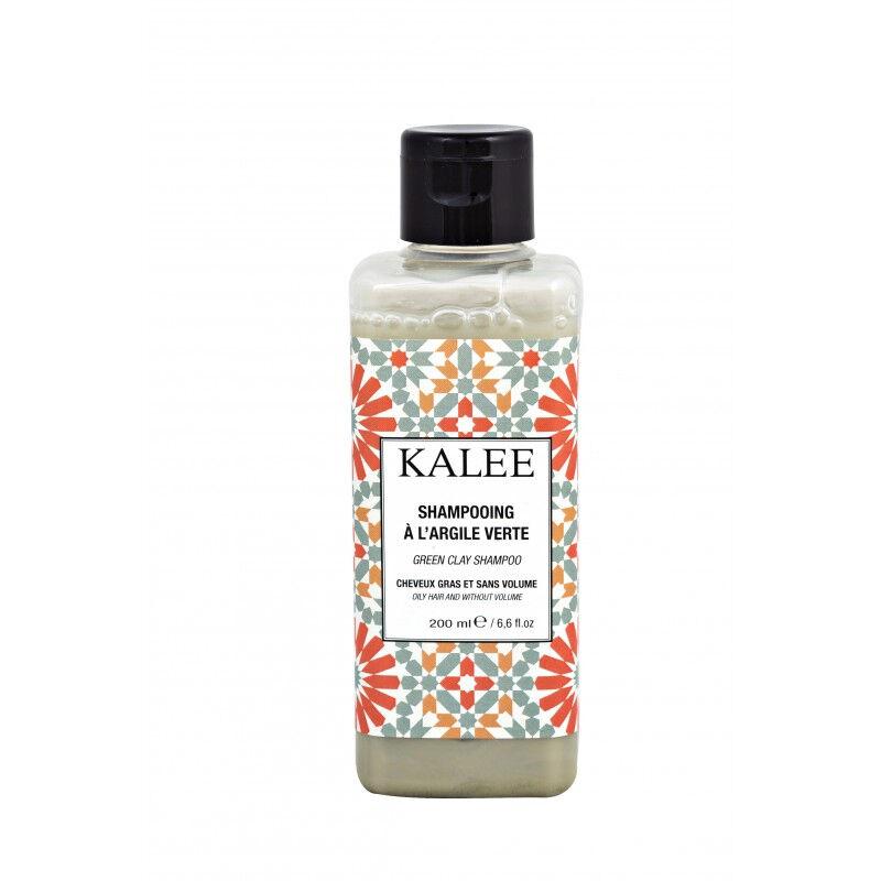 Kalee Beauty Shampoing à l'argile verte anti-cheveux gras