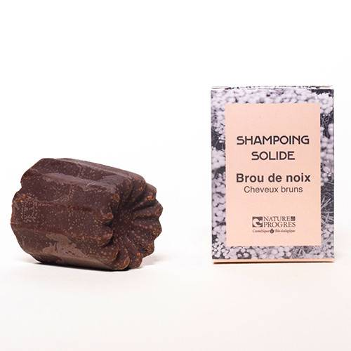 Les Simples Et Divines Shampoing solide Brou de noix 60g