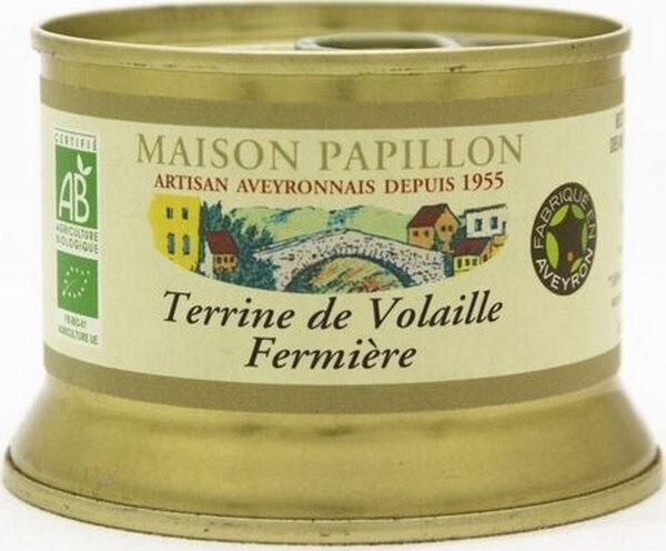 Sana Vita Terrine de Volaille Fermière, 130 g