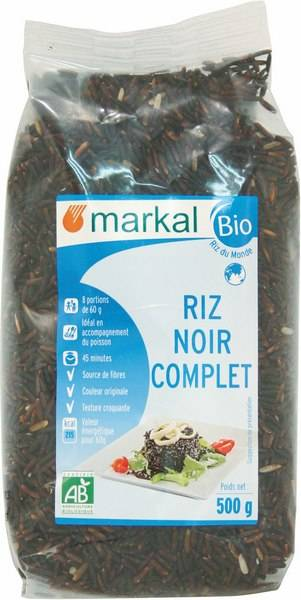 Sana Vita Riz Noir Complet, 500 g