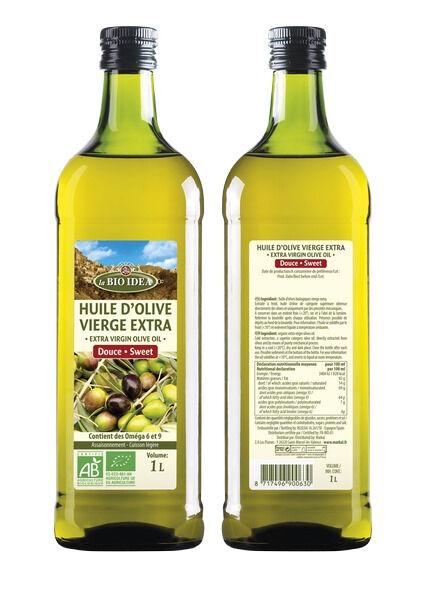 Sana Vita Huile D'Olive Vierge Extra, 1000 g