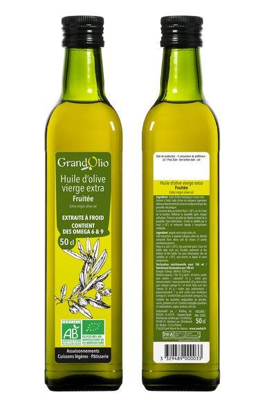 Sana Vita Huile d'Olive Fruitée Vierge Extra, 50 g