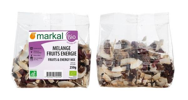 Sana Vita Mélange de fruits Energie (Raisins, Bananes, Noix de coco,...