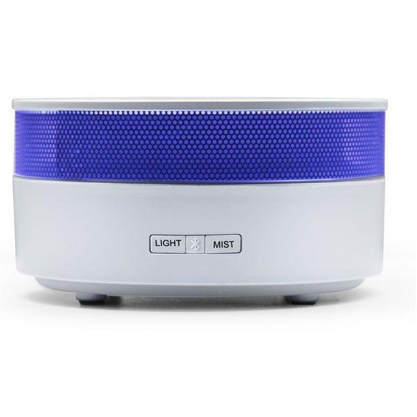 ZEN'ARÔME Diffuseur d'Huile Essentielle avec Enceinte Bluetooth Oia V.2