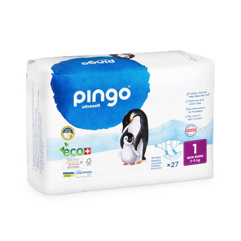 Popi-shop PINGO couches écologiques jetables t1 (2-5 kg)