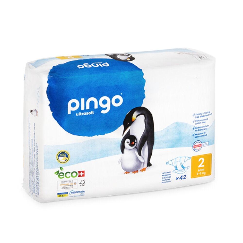 Popi-shop PINGO couches écologiques jetables t2 (3-6 kg)