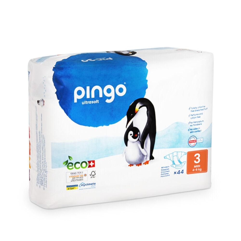 Popi-shop PINGO couches écologiques jetables t3 (4-9 kg)