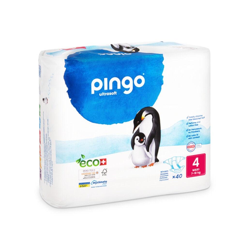 Popi-shop PINGO couches écologiques jetables t4 (9-18 kg)