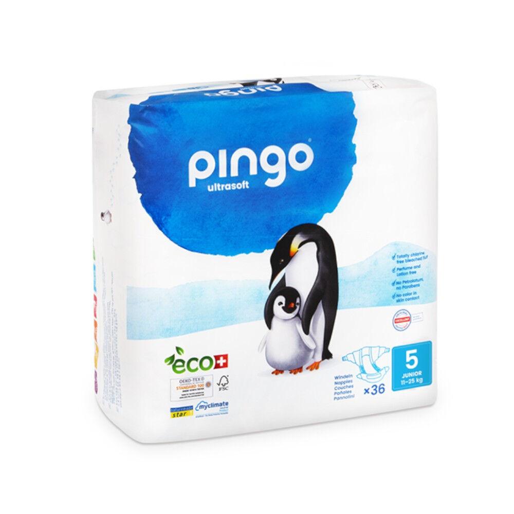 Popi-shop PINGO couches écologiques jetables t5 (11-25 kg)