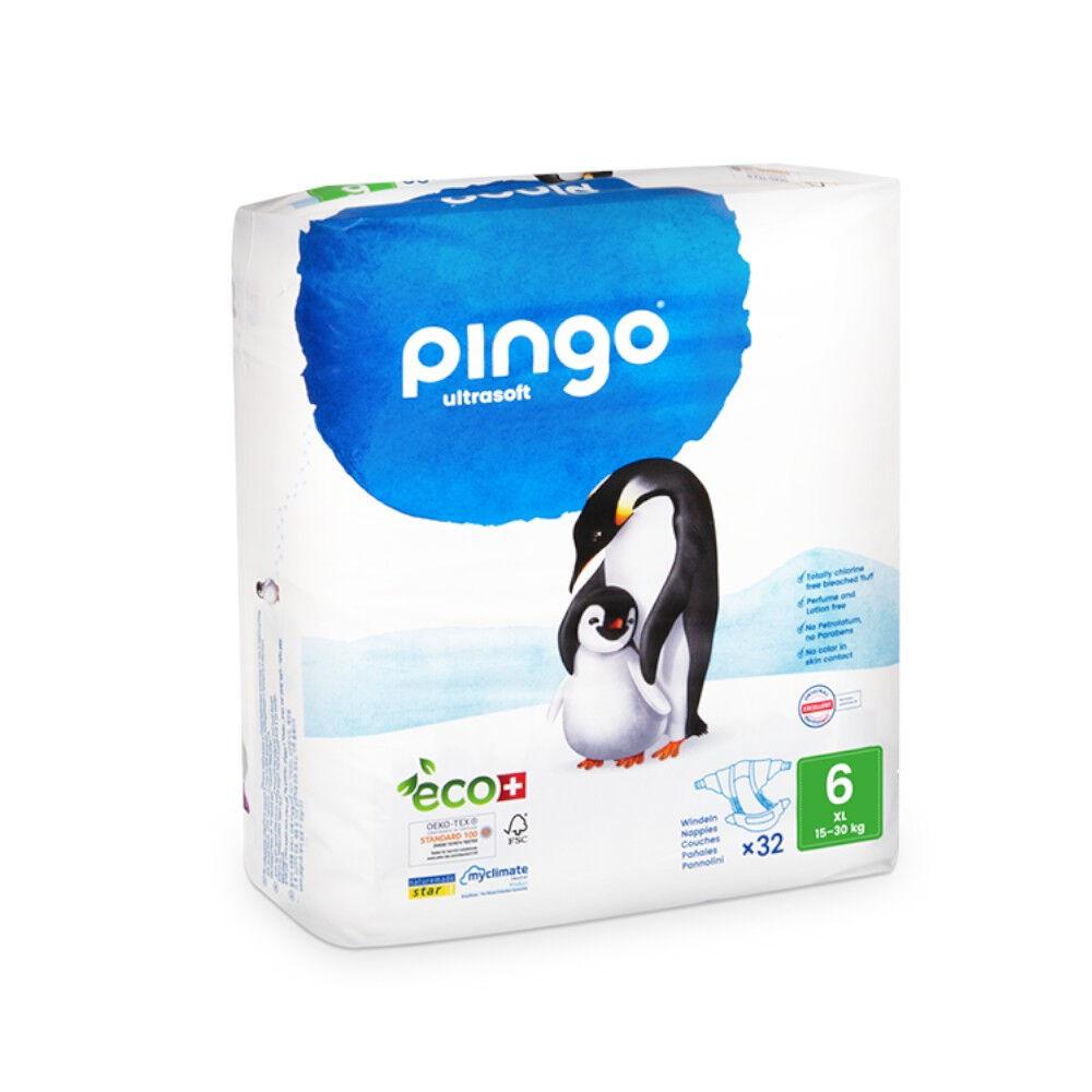 Popi-shop PINGO couches écologiques jetables t6 (16-30 kg)