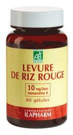 Laboratoires Ilapharm Levure de riz rouge bio - réguler son cholesterol - 10 mg de...